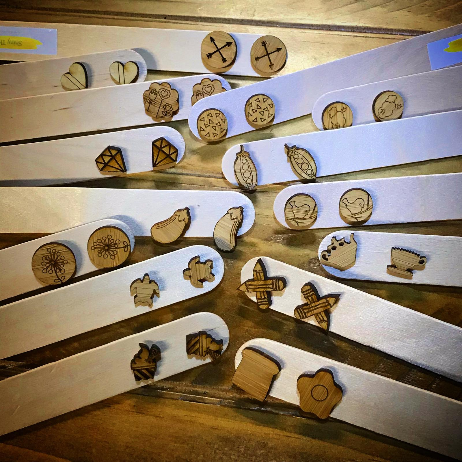 Wooden studs
