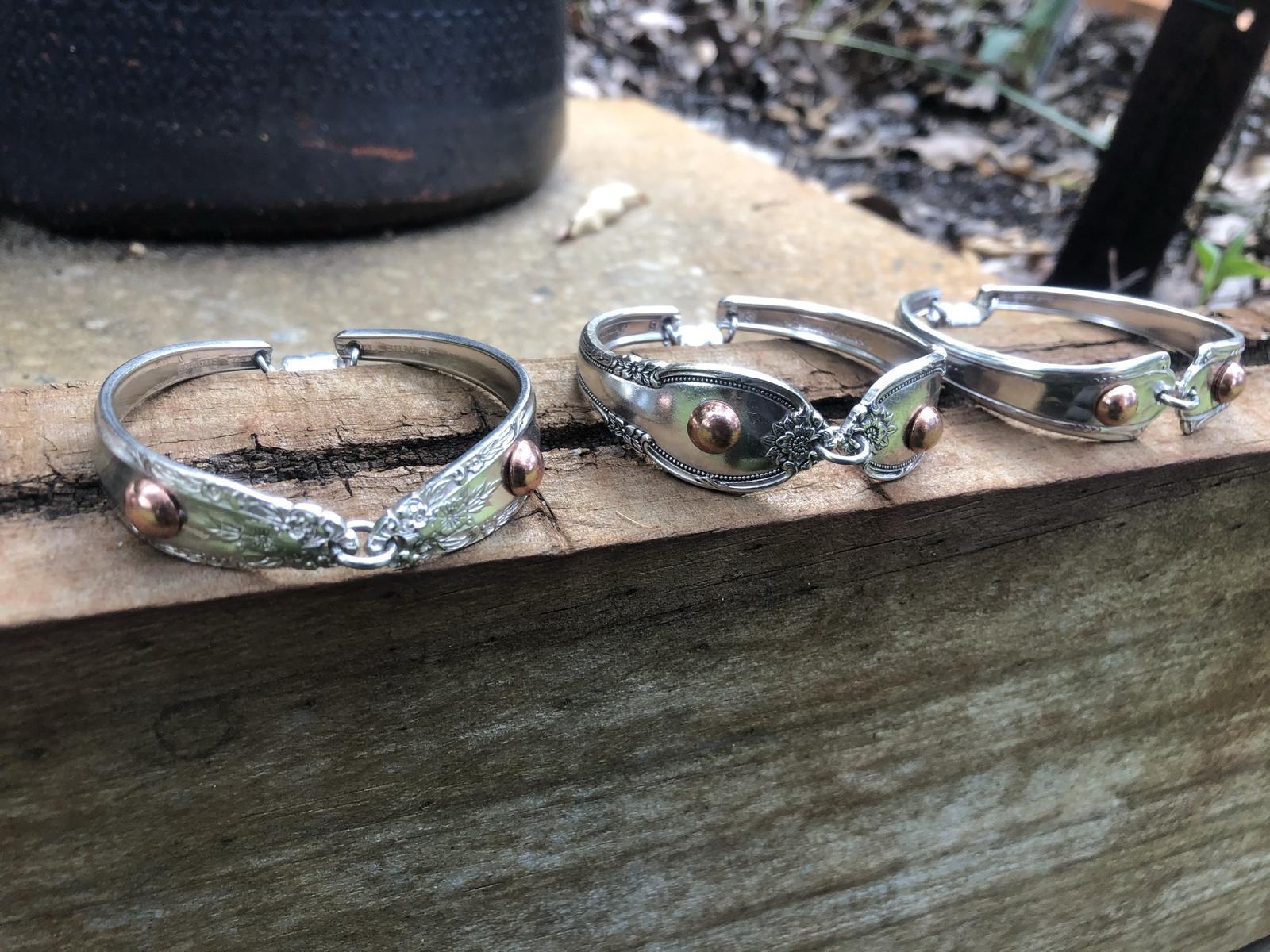 Silverware Bracelets