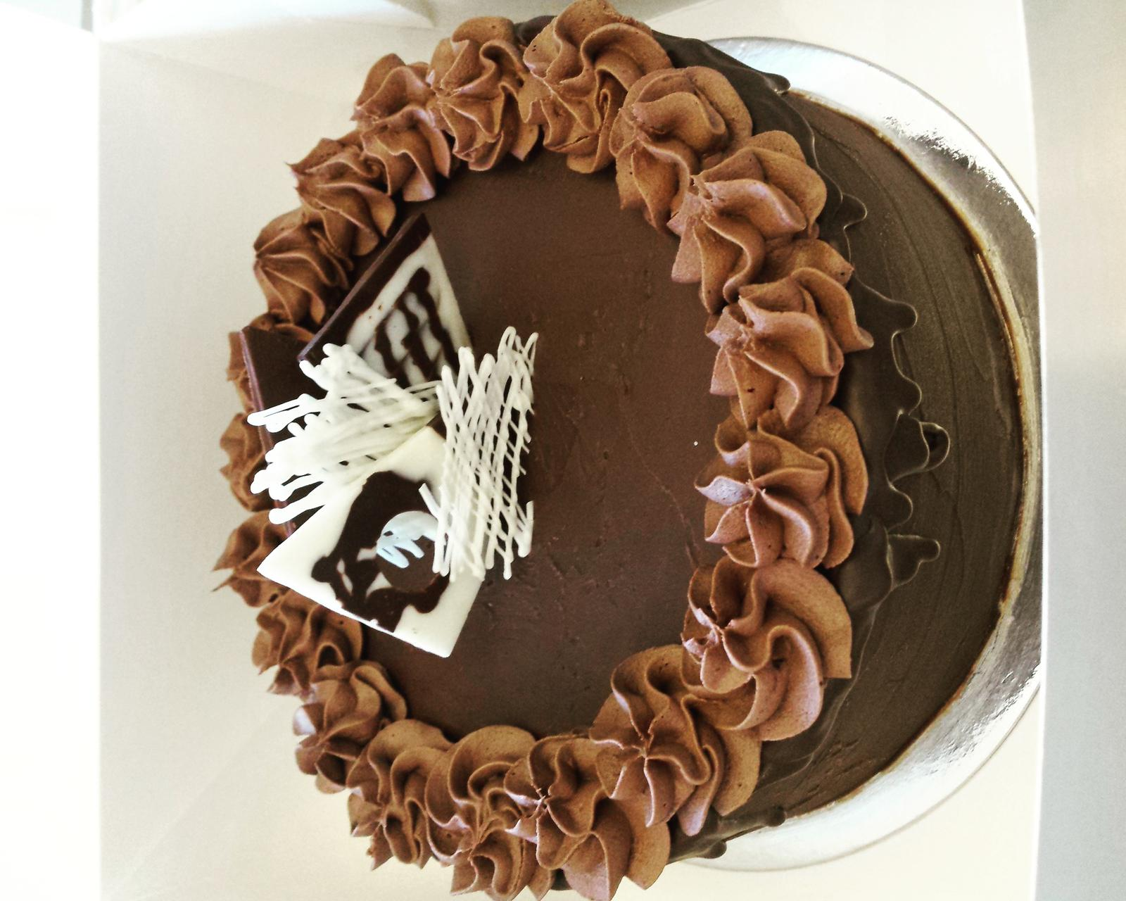 Chocolate Mudcake sold as sliced or whole
