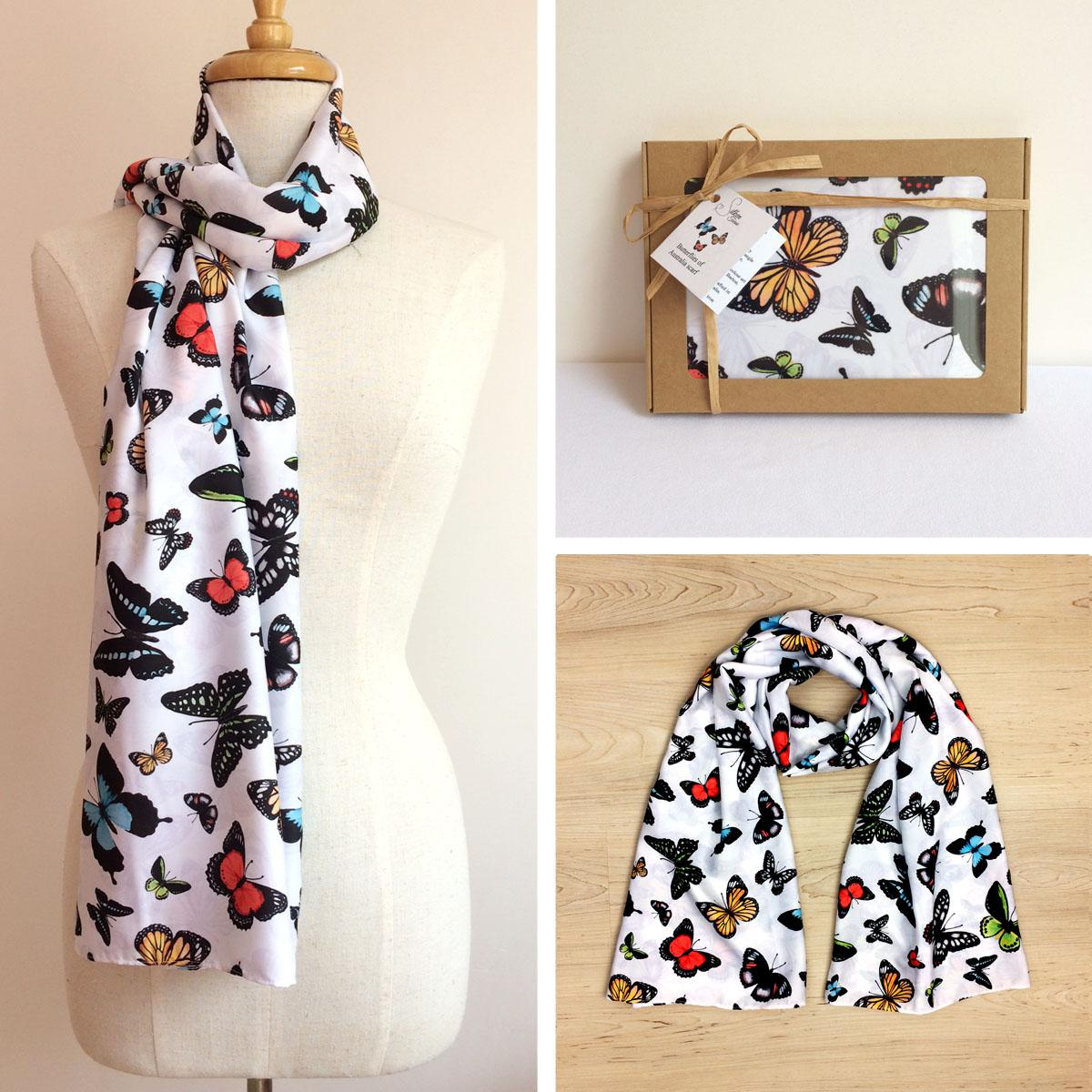 Butterflies of Australia Scarf
