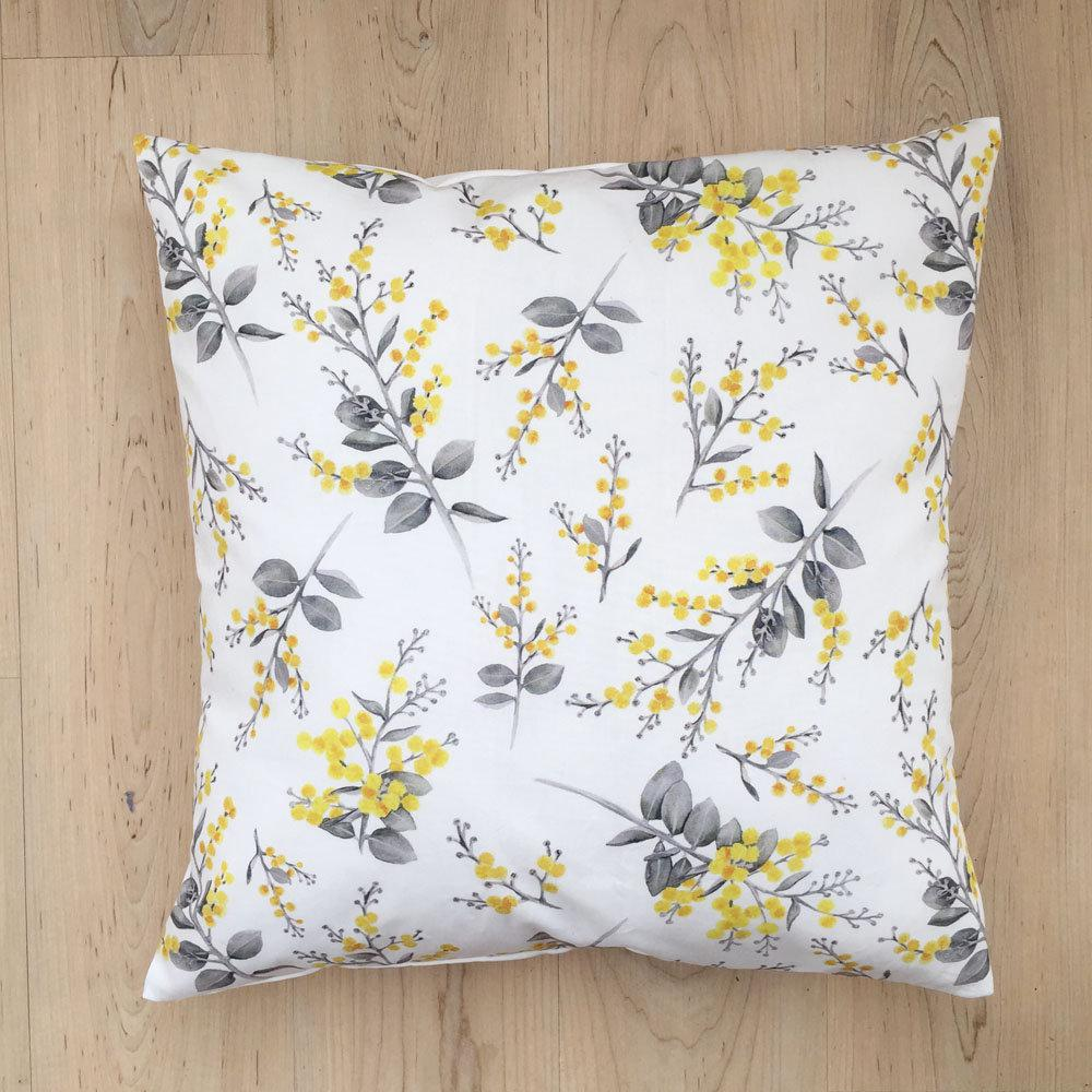 Silver Wattle Cushion Cover