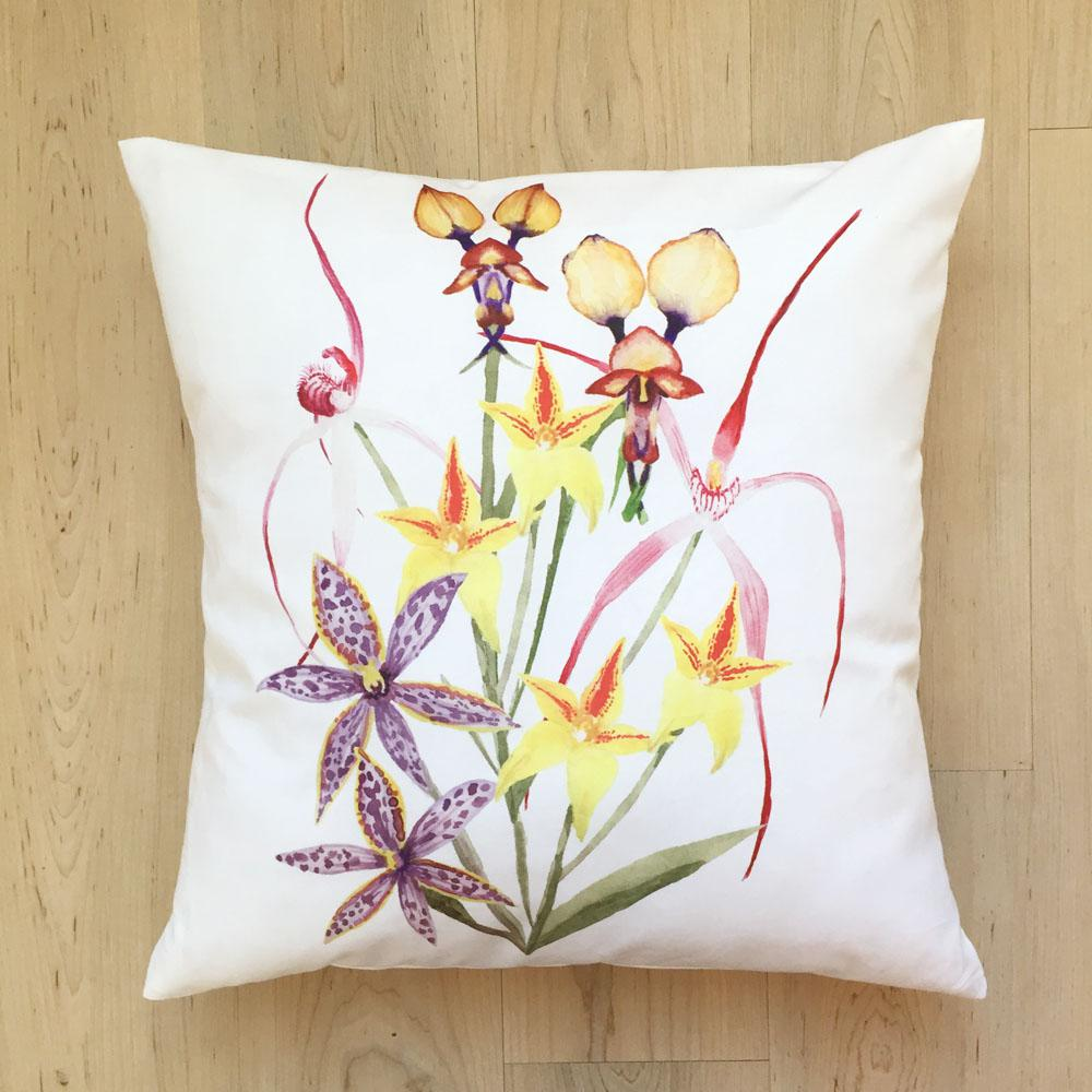 Orchids Cushion Cover