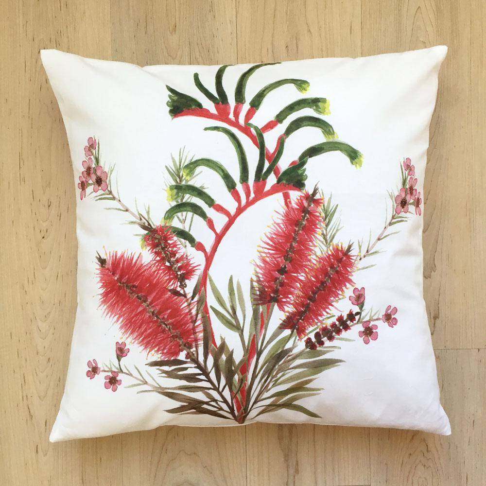 Wild Flowers Cushion Cover