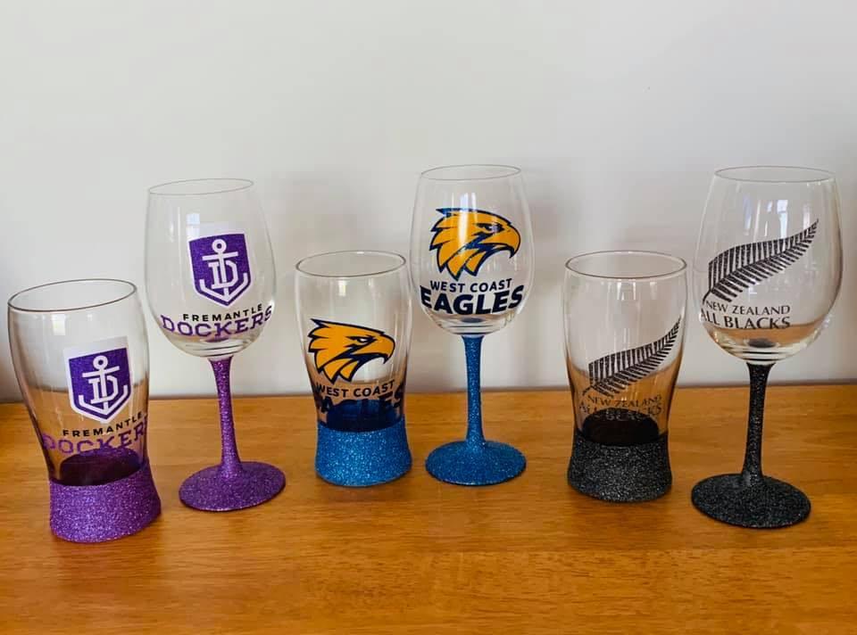 Glitter Glasses AFL