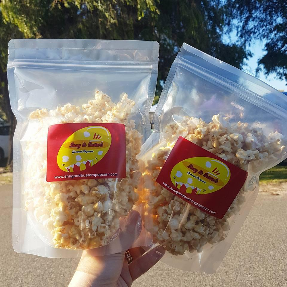 Our delicious popcorn!