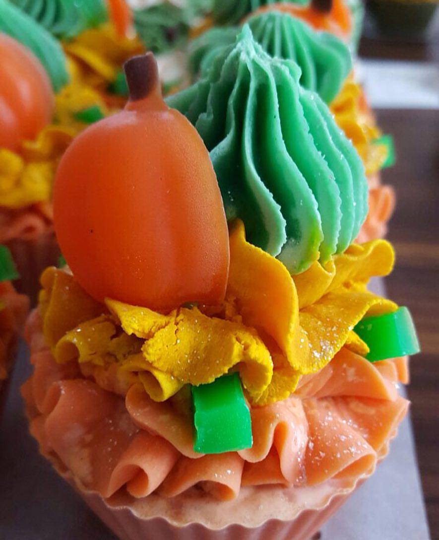 Pumpkin Cupcake soaps