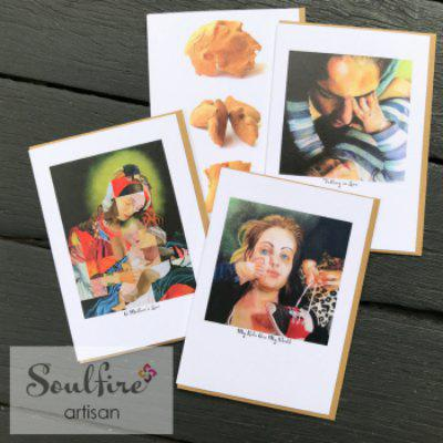 Soulfire Artisan Cards with Original Artwork