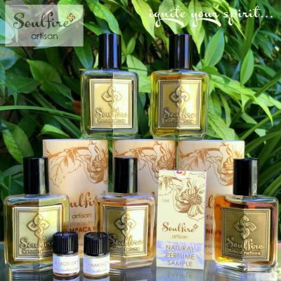 Soulfire Artisan Natural Perfumes and Samples