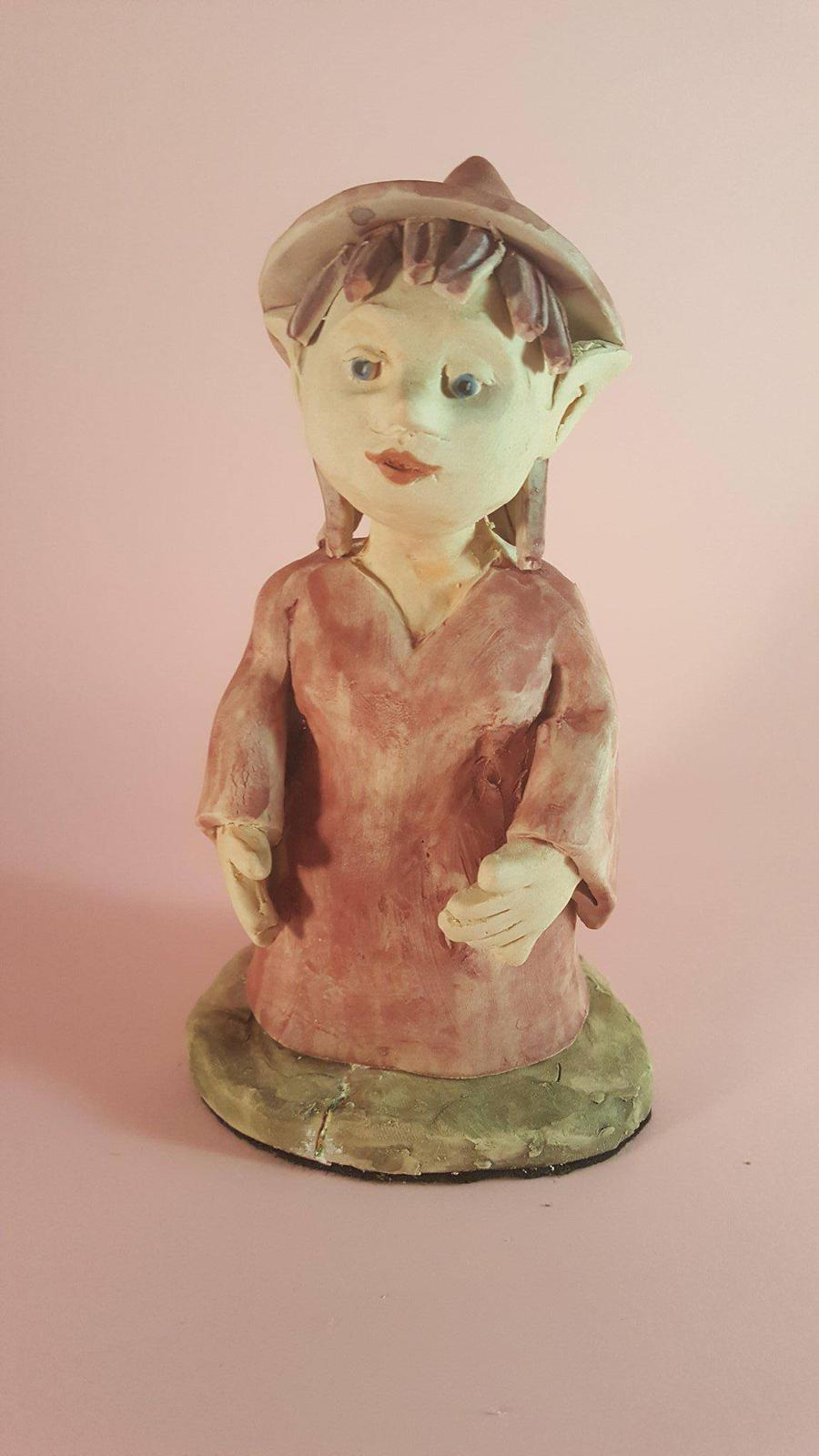 Handmade Pottery Witch