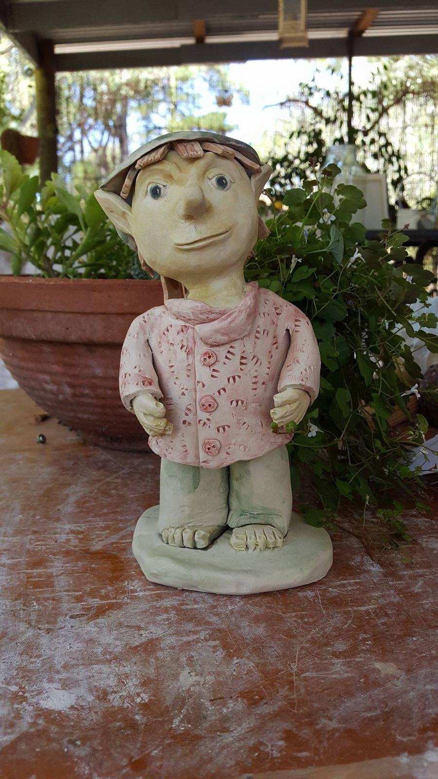 Little Handmade Garden Person