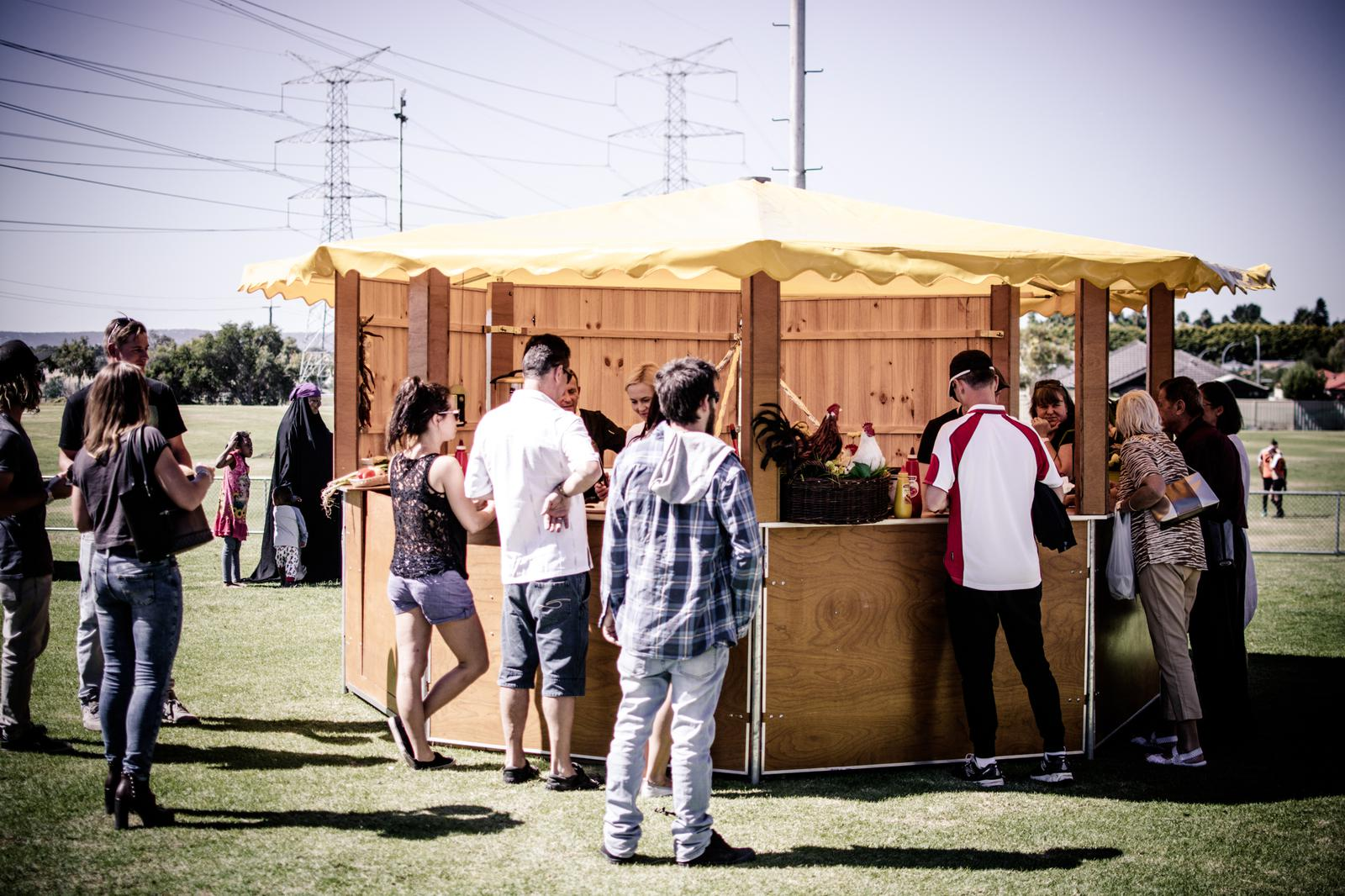 FOOD STAND WITH A DIFFERENCE!