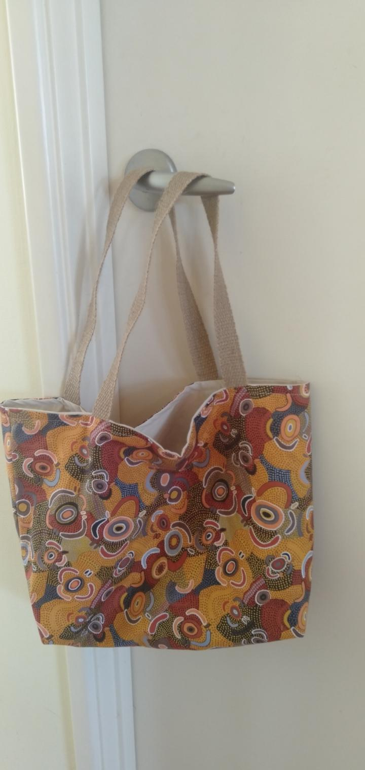 Crafted by Catie handmade bag