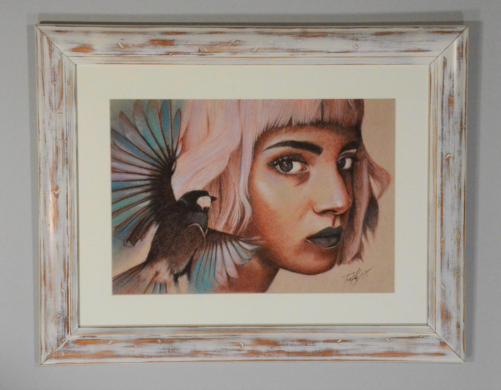 Fly in upcycled frame