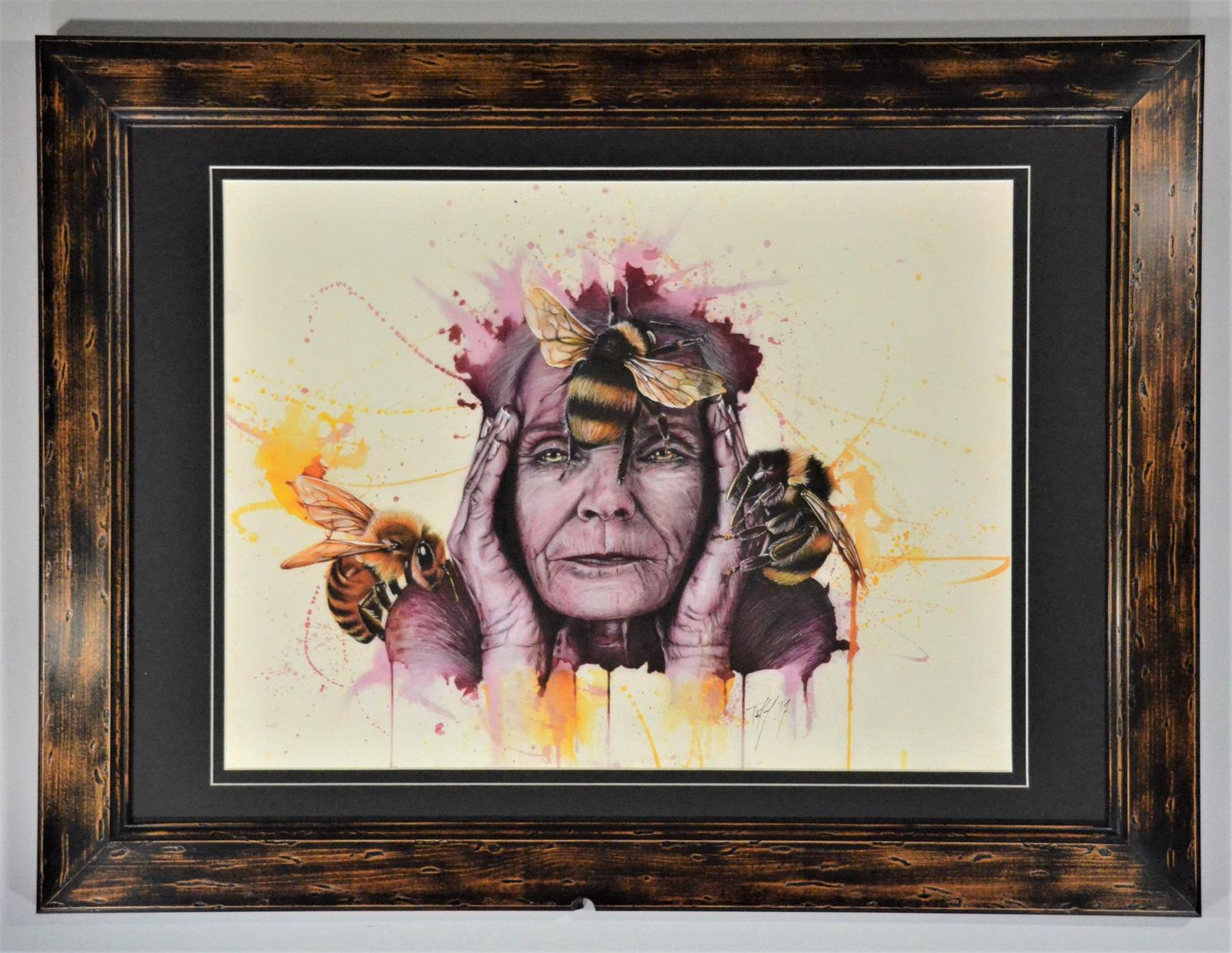 Sentience in upcycled frame