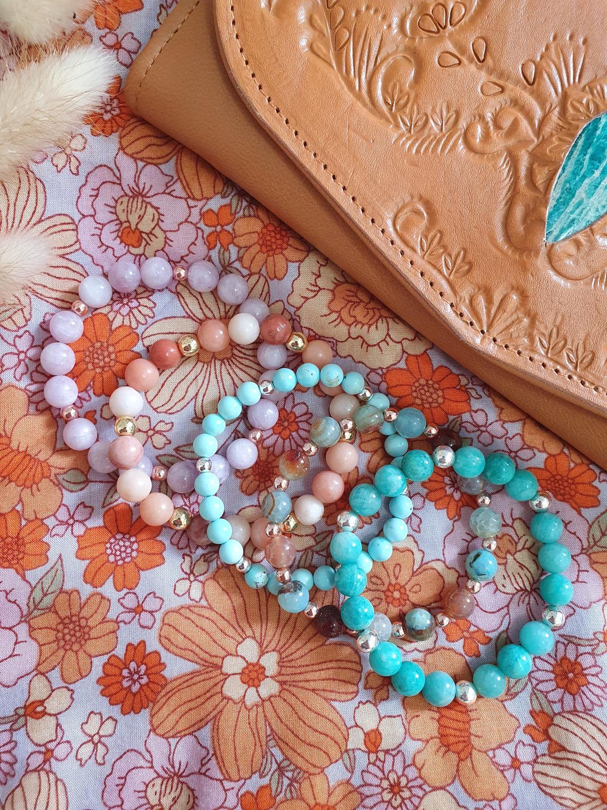 The Boho Bracelet - Gemstone Bracelet Stack