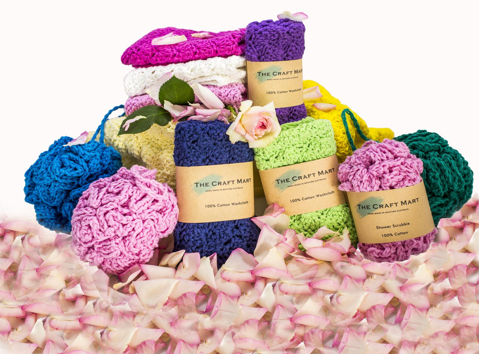 Crochet Bath Items