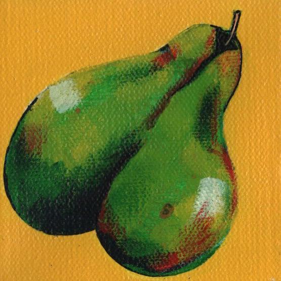 1 of 4 pears - original