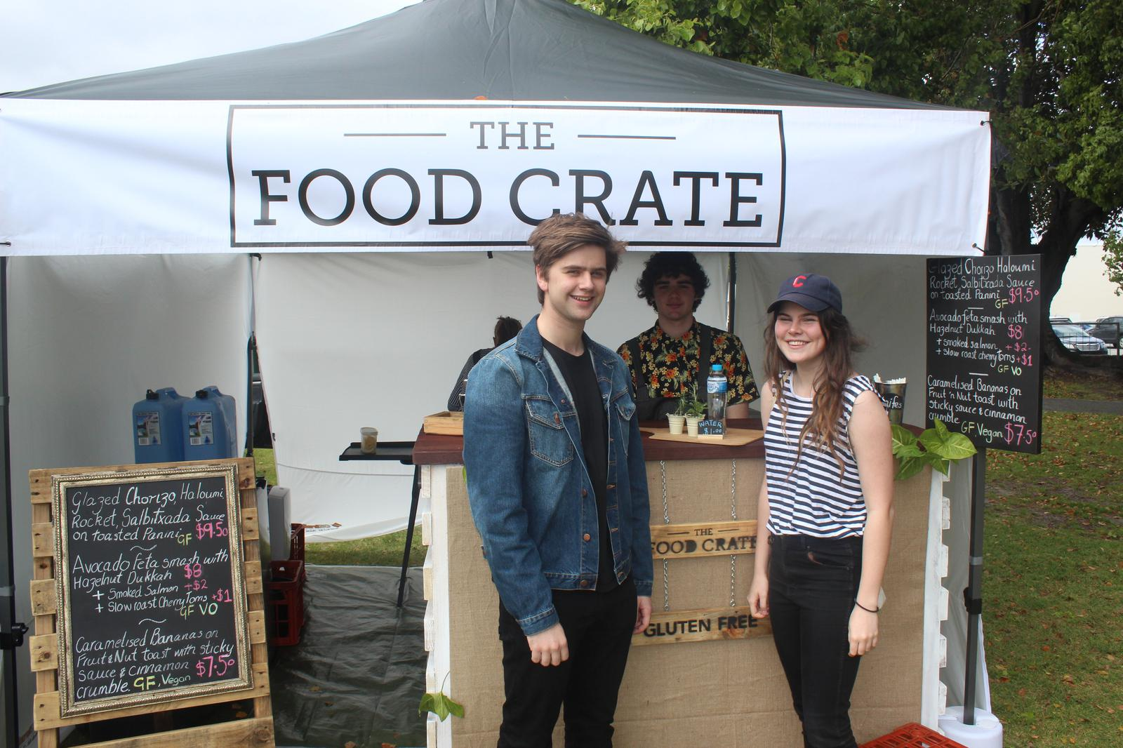 Our Handmade Stall Front