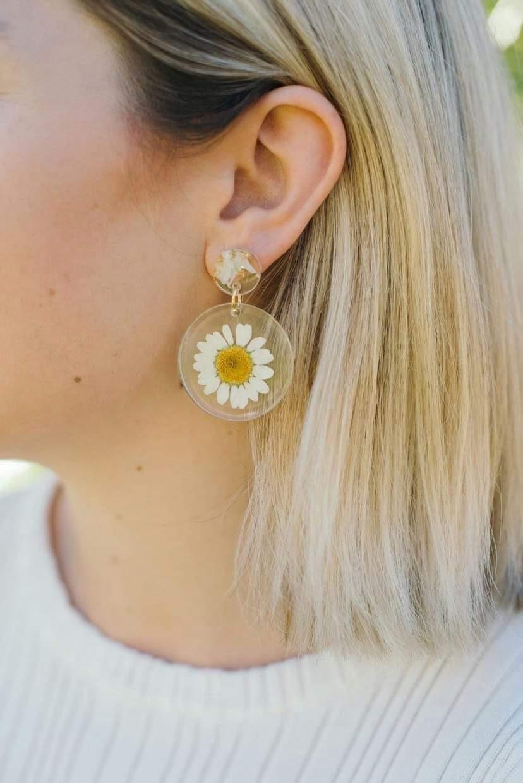 Sunny Daisies Earrings