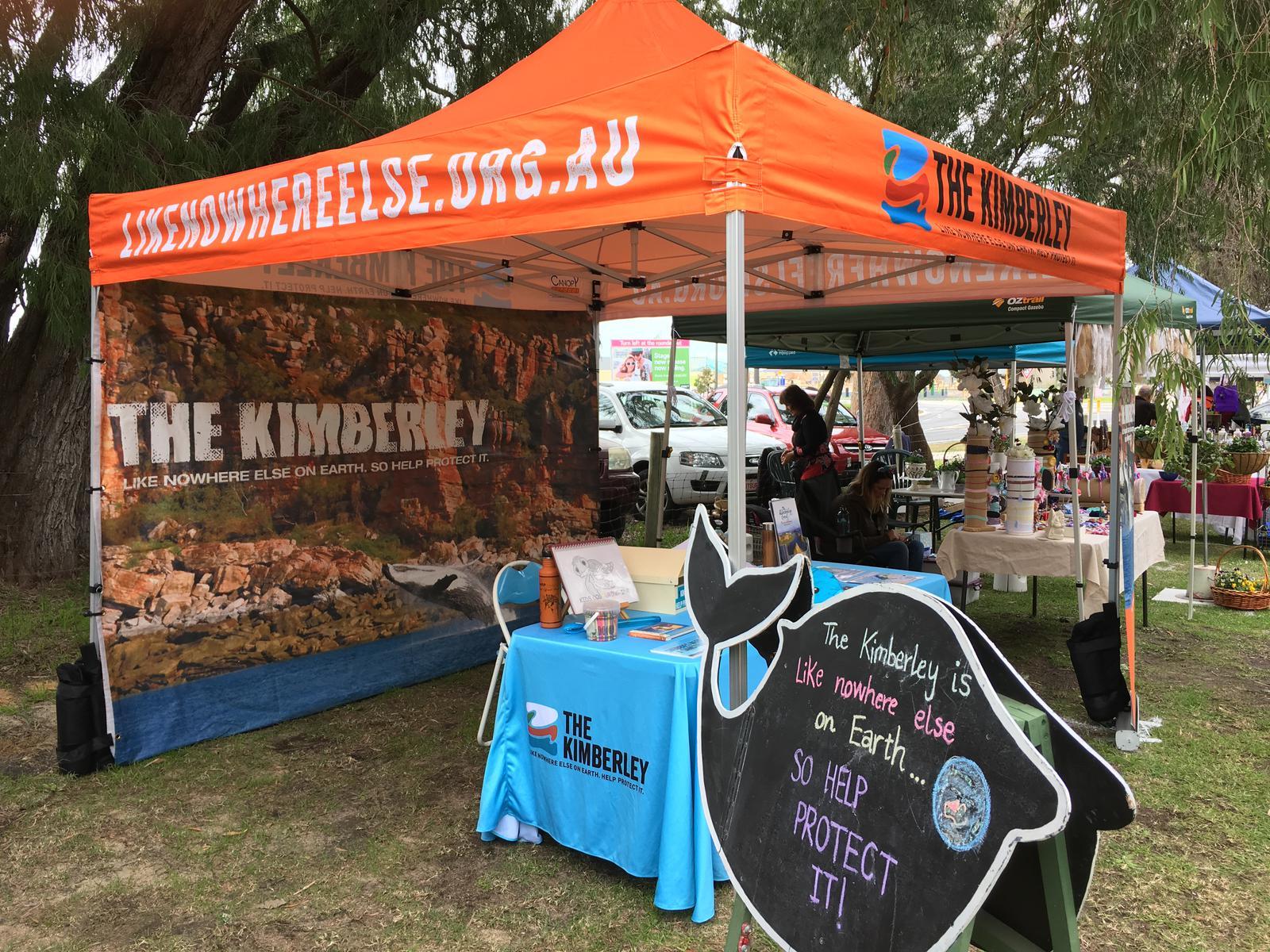 Kimberley stall