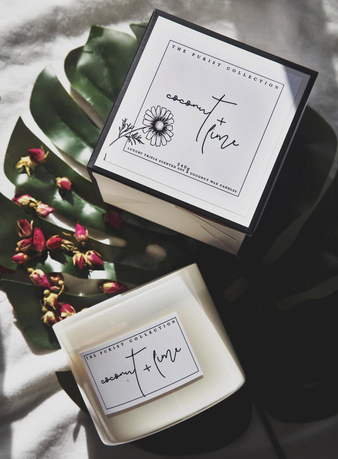 Natural Soy & Coconut Wax Candles