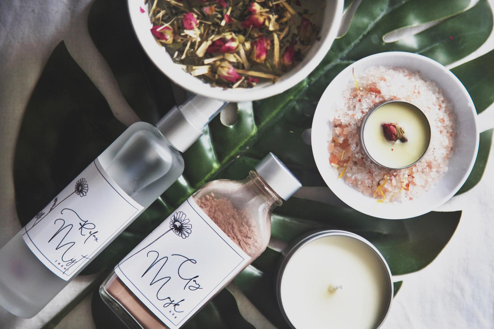 Naturopathic Blend Herbal Teas & Natural Skincare