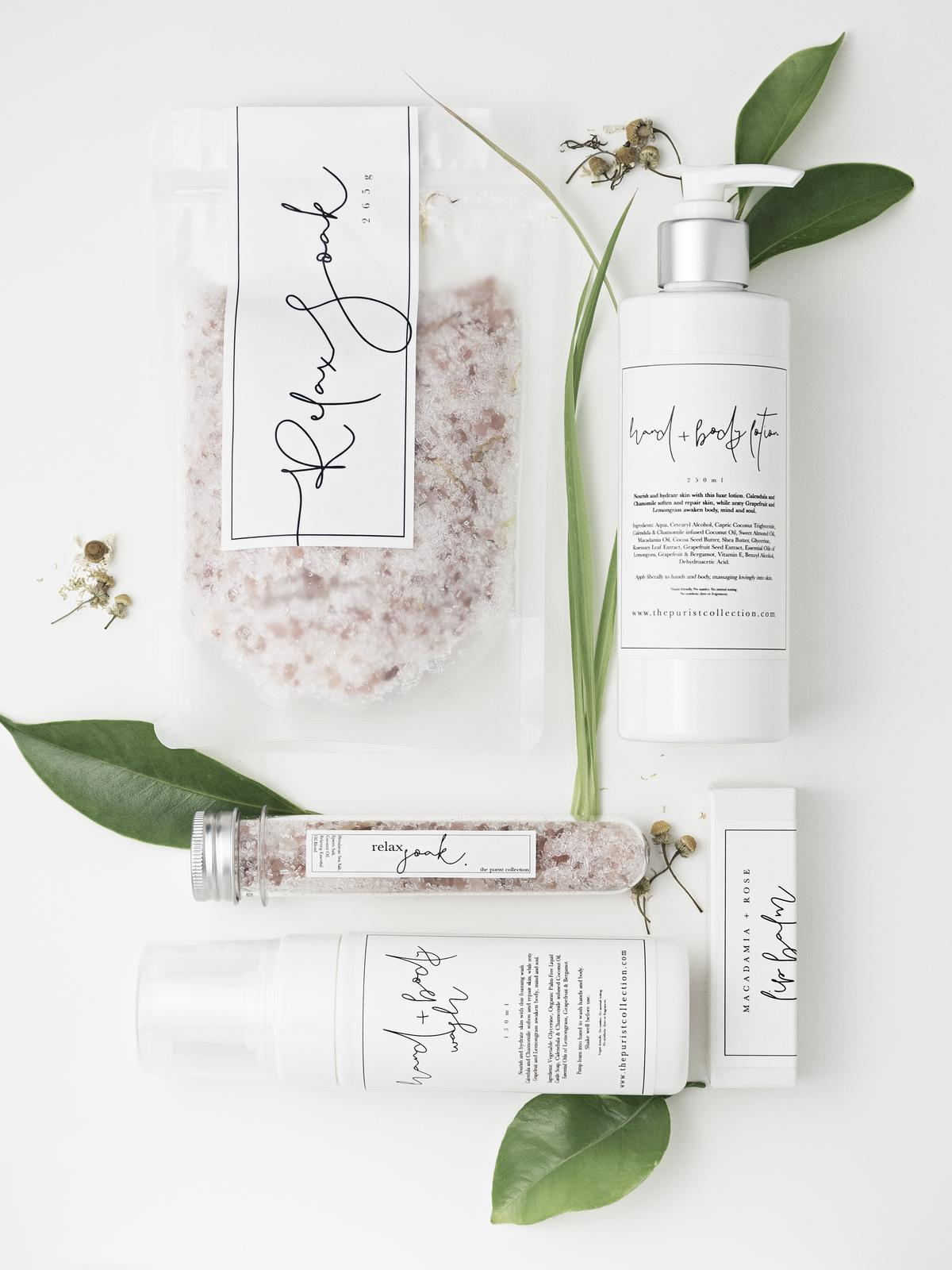 The Purist Collection   Natural Skin + Body Care