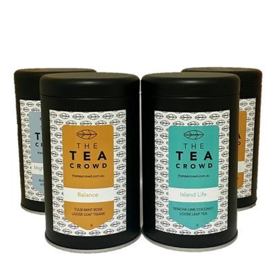 The Tea Crowd Tin Range