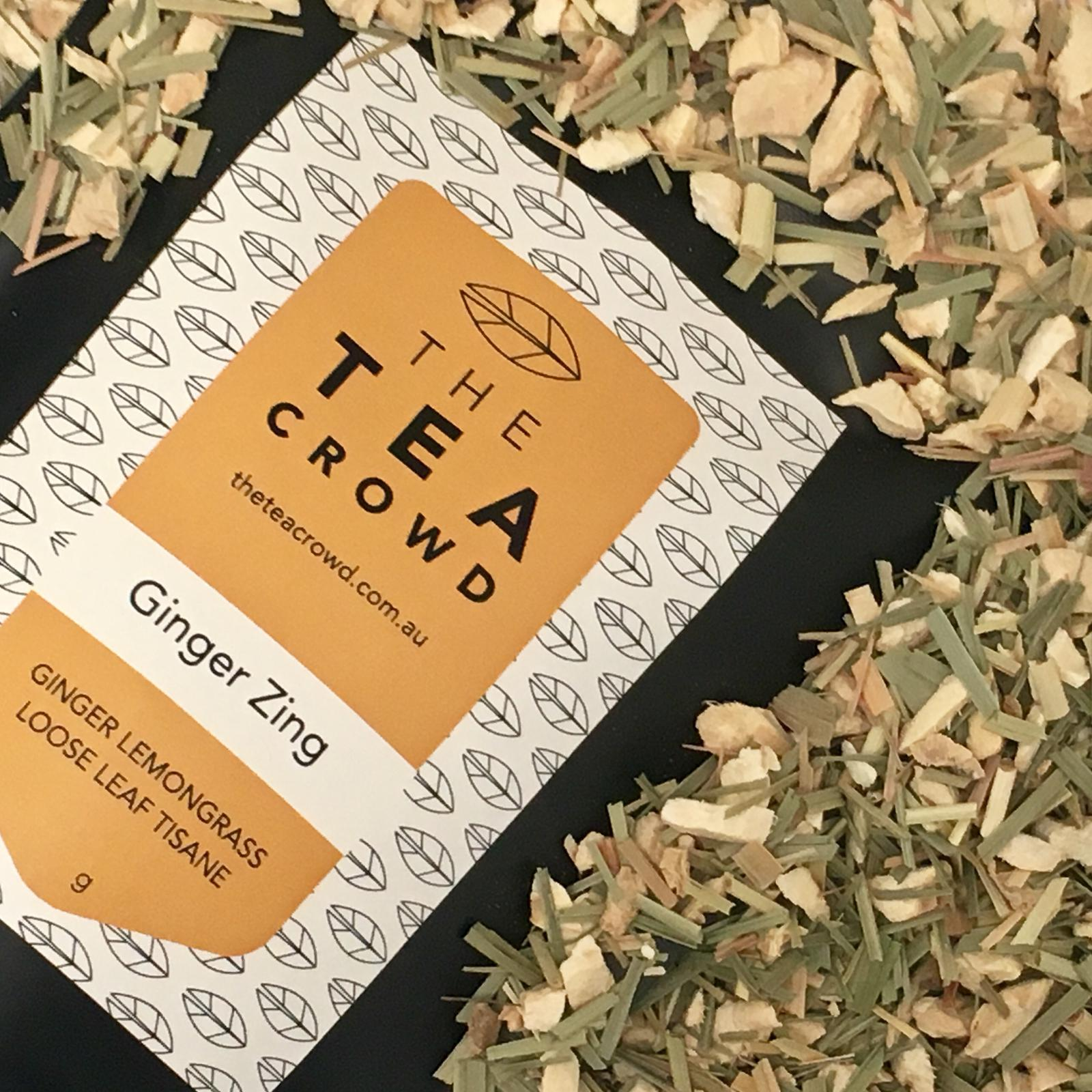 The Tea Crowd - Ginger Zing