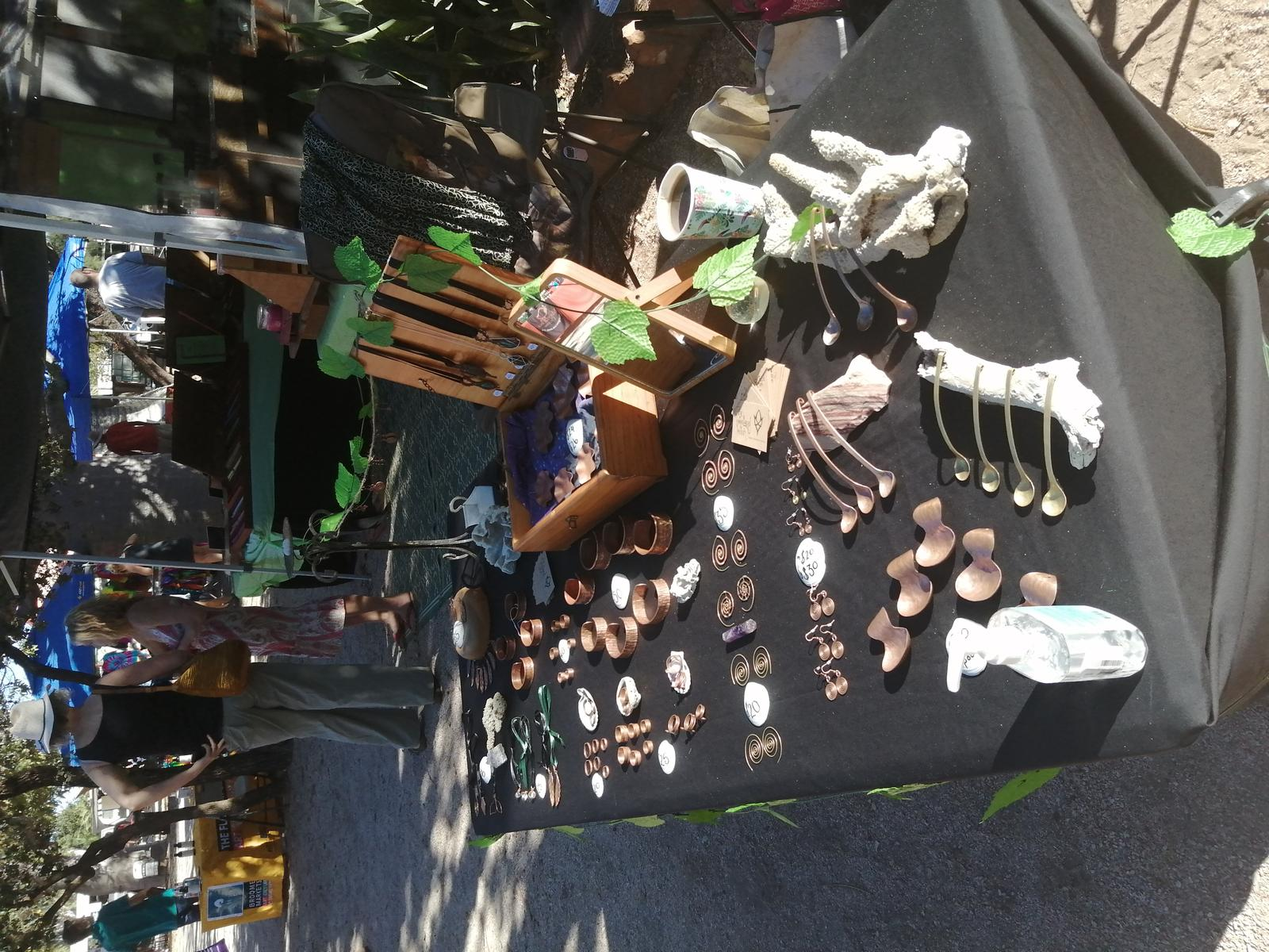 The Woodland Witch at Broome Market