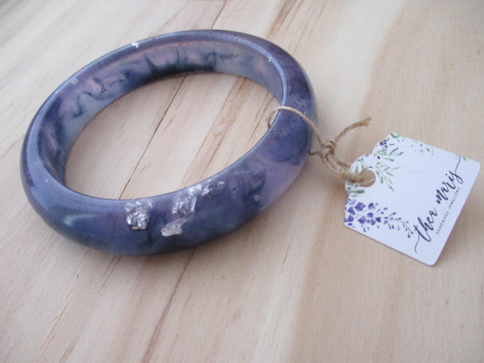 Rounded Resin bangle