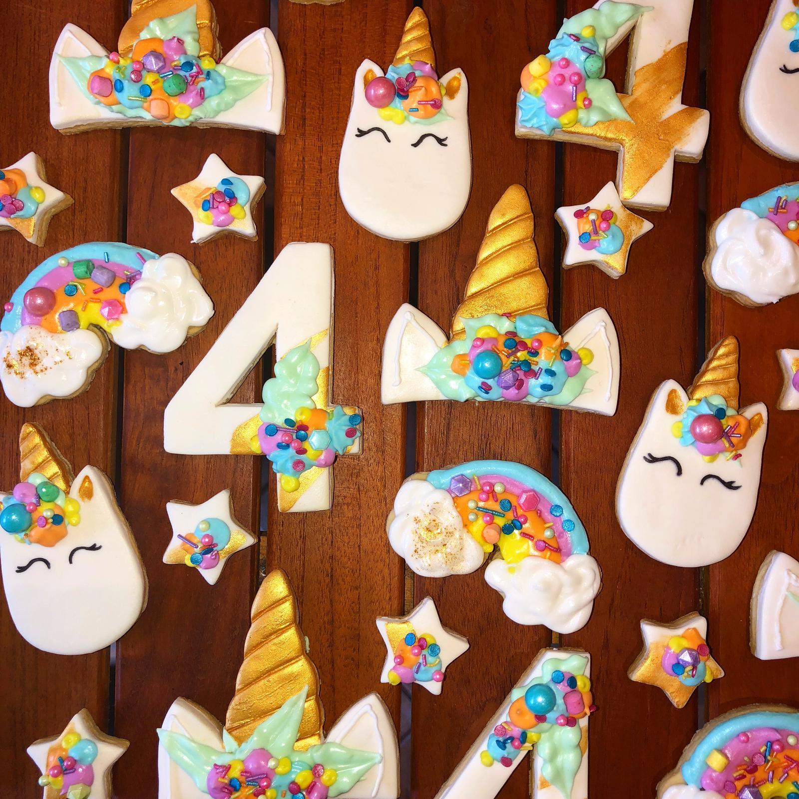 Unicorn theme cookies