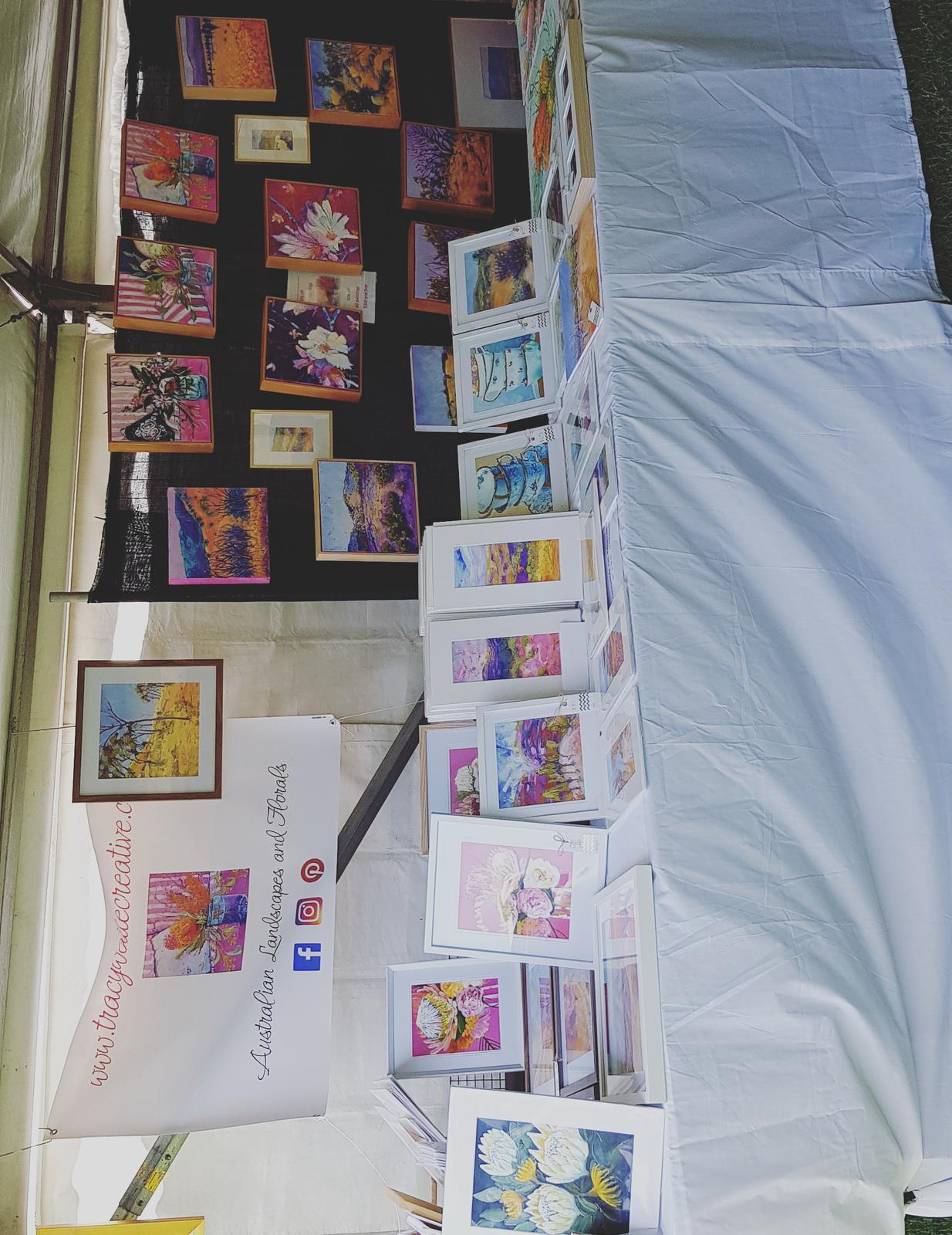 Layout for Darlington Art Fair
