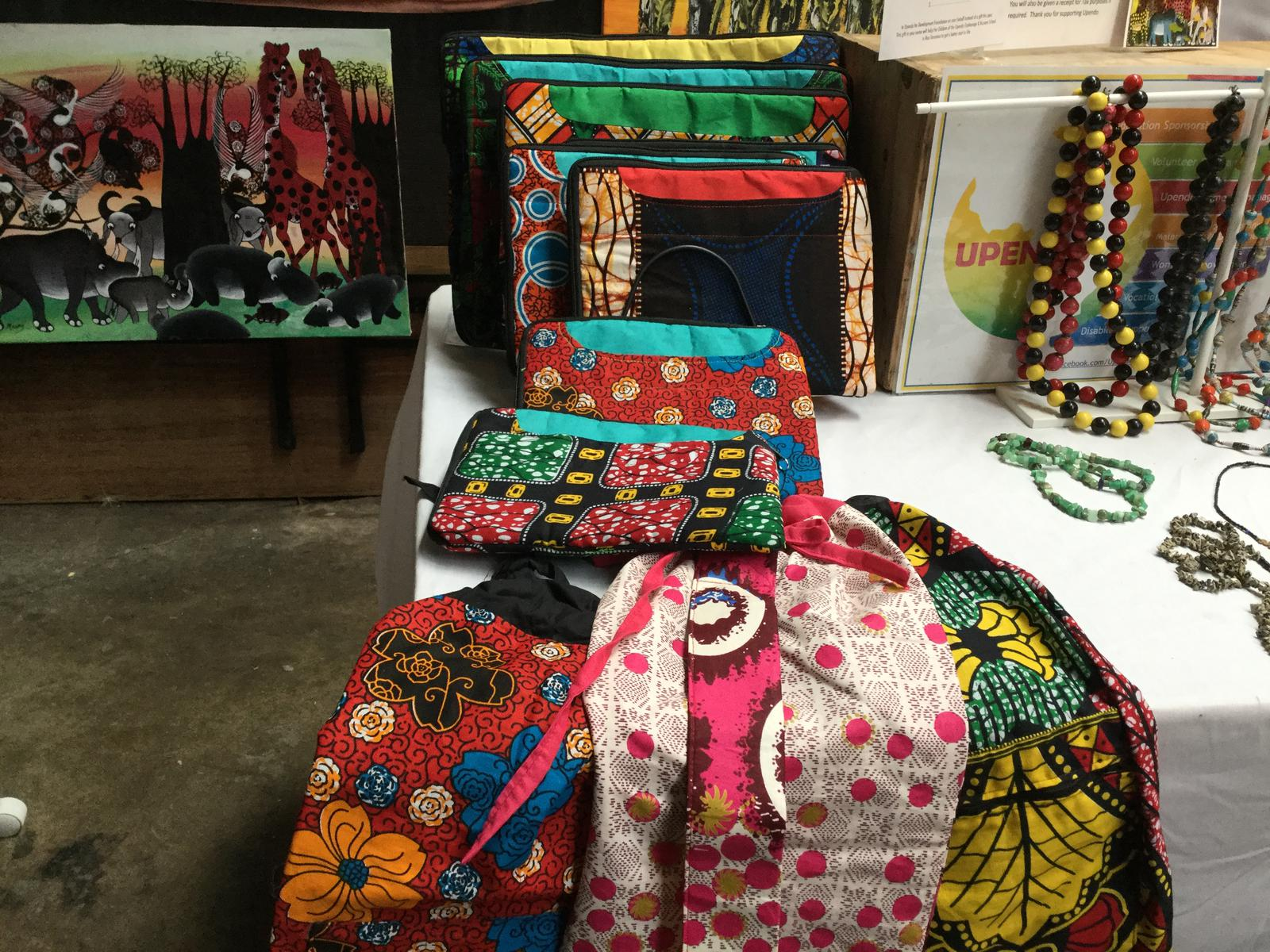 Laptop & iPad bags handmade by our disabled community in Moshi Tanzania
