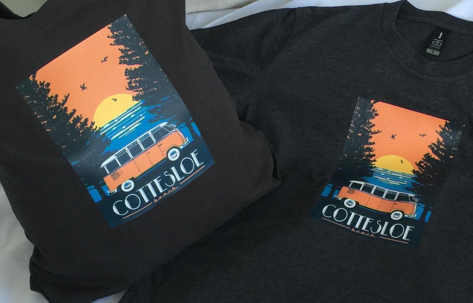 Kombi Tshirt and Shoulder Bag