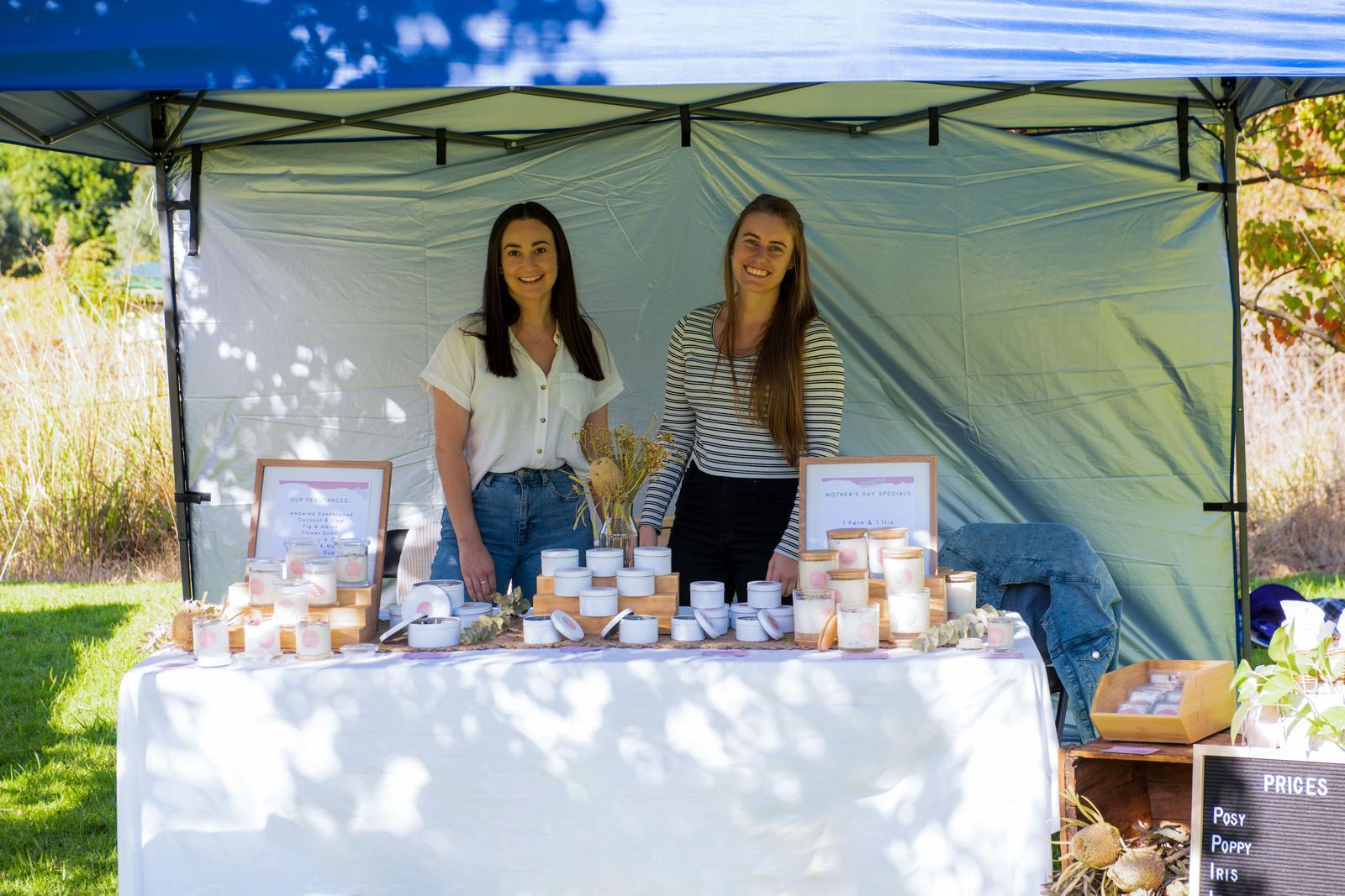 First market stall