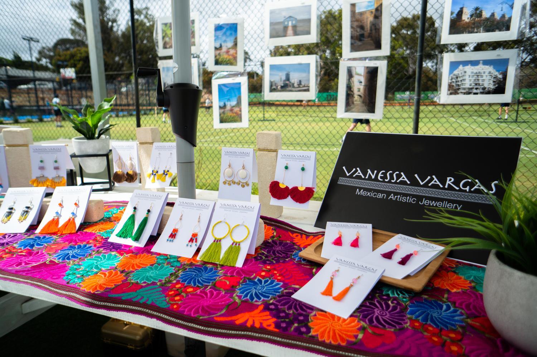 Vanessa Vargas - Mexican Artistic Jewellery (stall presentation)
