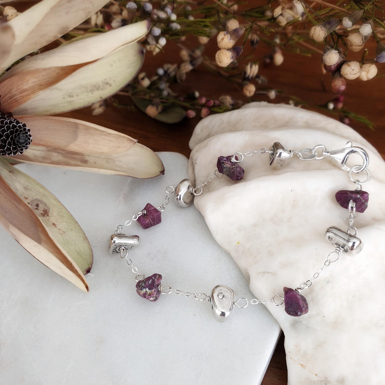 Raw Stone Bracelets