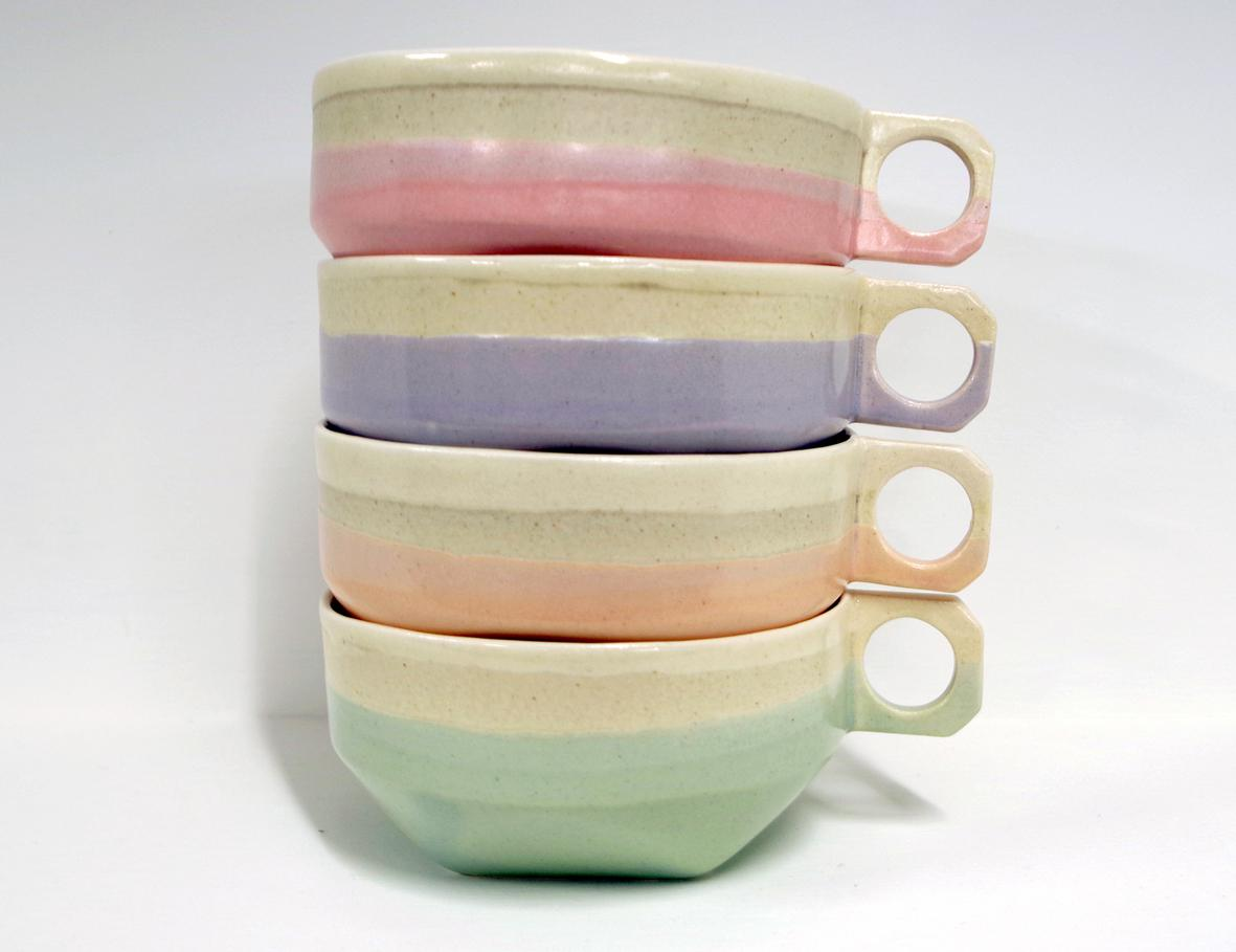 Summer Teacups
