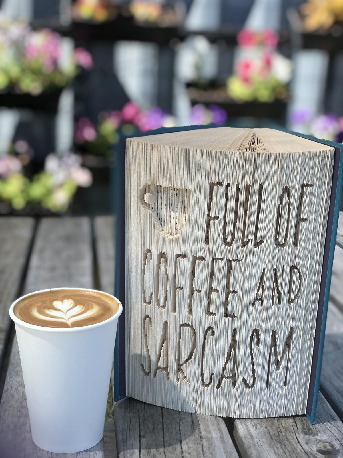 Bookami Coffee and Sarcasm