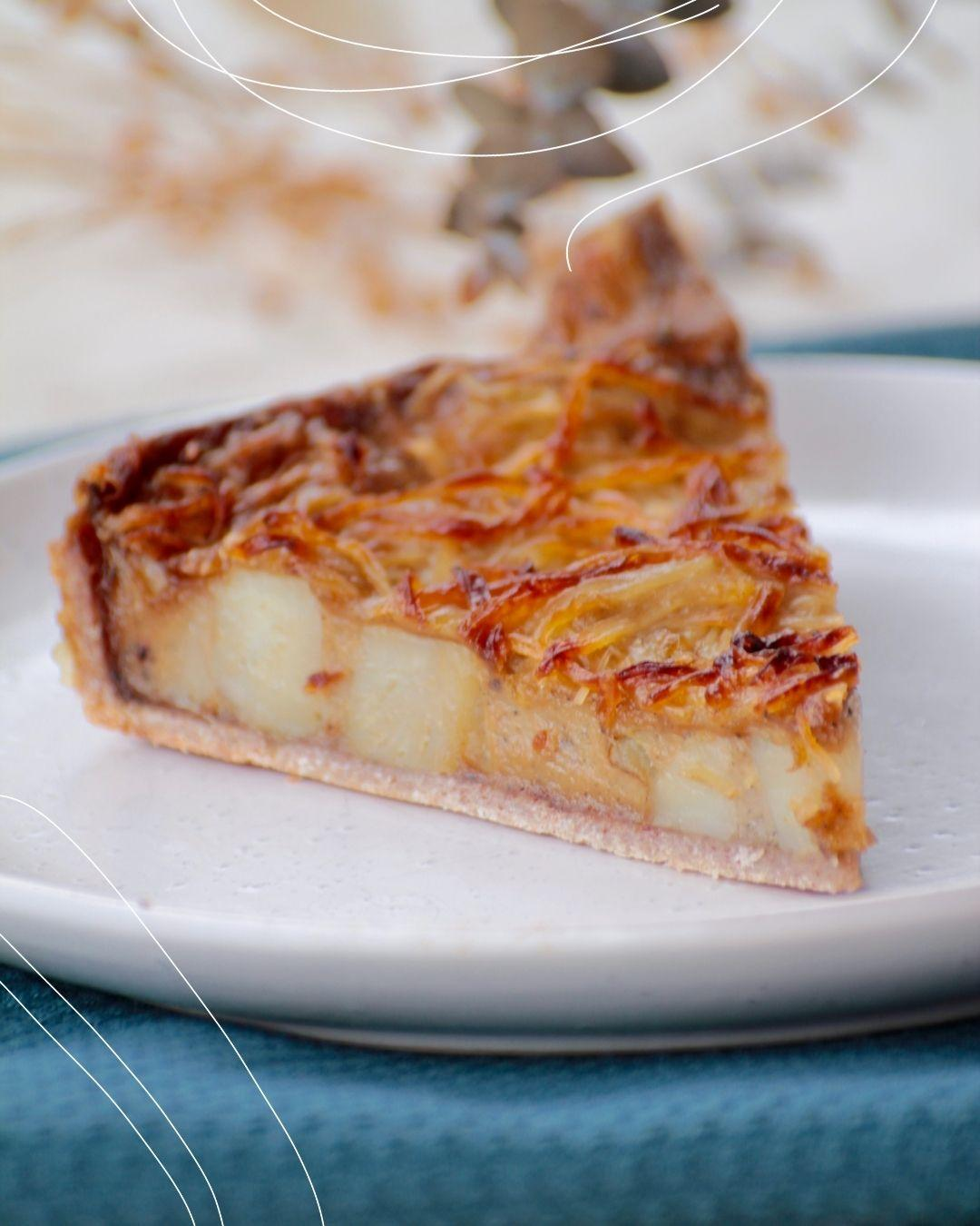 Potato and Cheese quiche