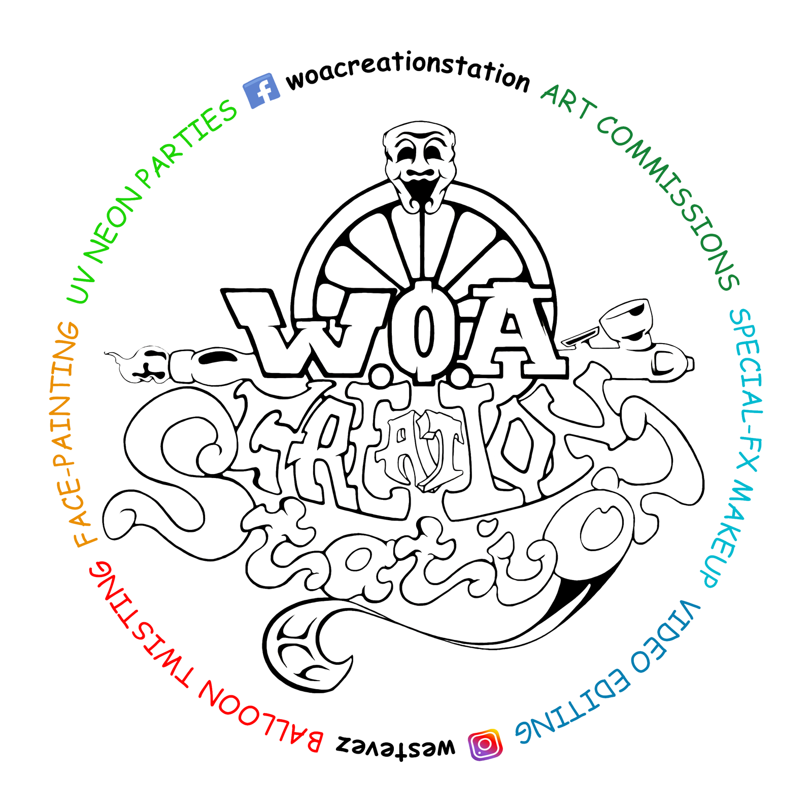 WOA: Creation Station Logo