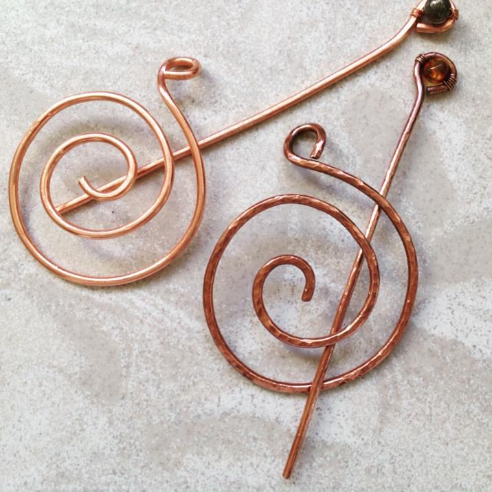 Hairs Pins or Shawl Pins - you choose