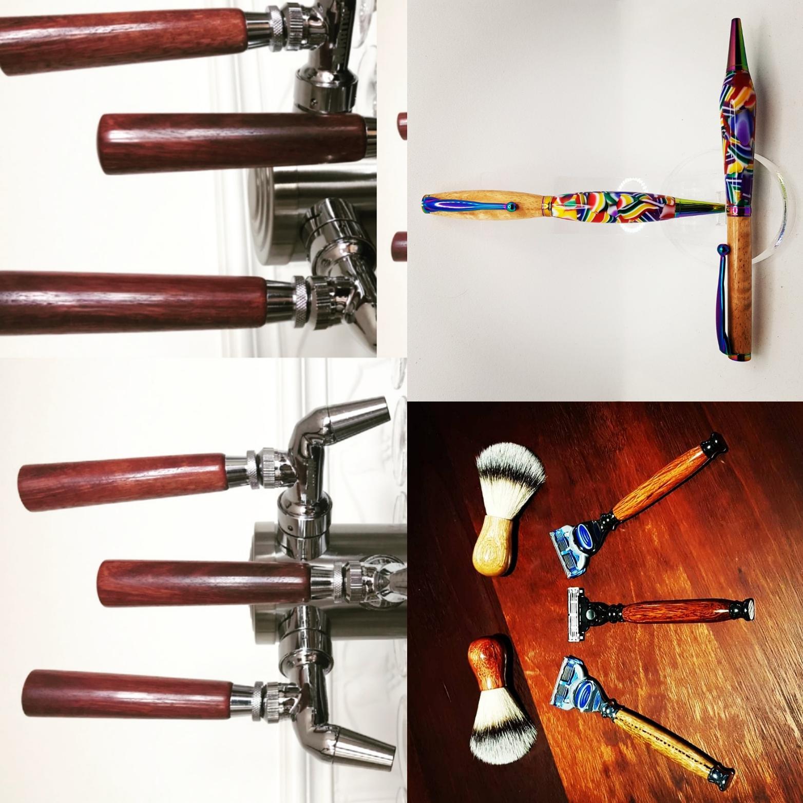 Beer taps, razors, hybrid pens