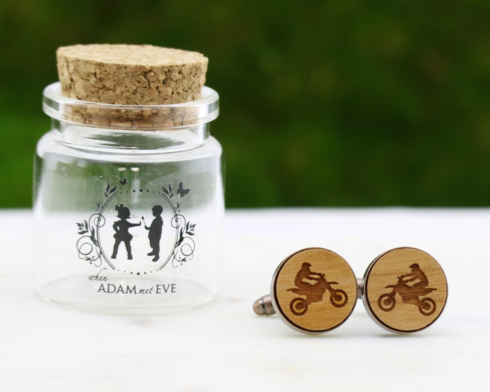 Dirt Bike Cuff Links
