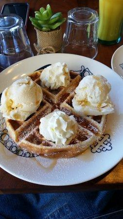 Wicked Waffles and Ice Cream