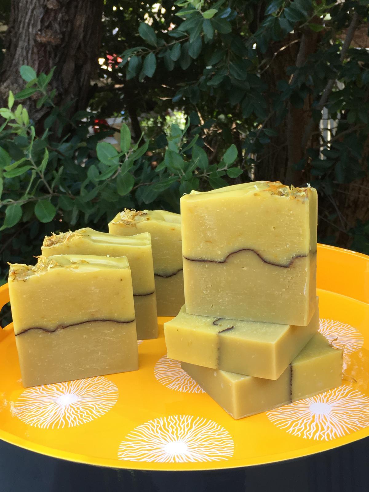 Sunshine Calendula Soap