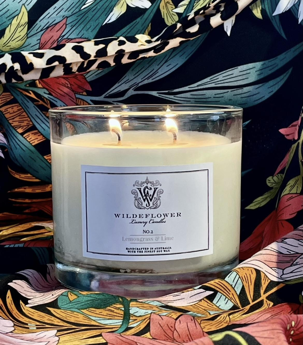 Wildeflower Luxury Candles Candle