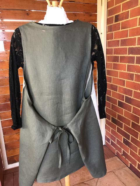 Linen tunic back