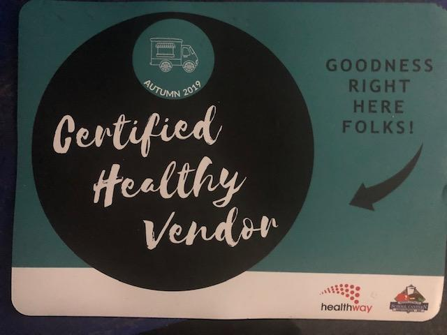Healthy food vendor